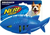 Nerf Dog Super Soaker Floating Shark Football Toy