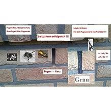 Fugenlüfter,Wespenschutz,Stoßfugengitter,Stoßfugenlüfter, Fugennetz, grau, Klinker 50 Stück