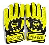 Arsenal FC Childrens/Kids Official Football Crest Goalkeeper Gloves