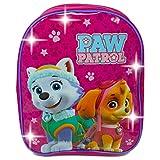 PAW PATROL 1029hvl-6258Skye und Everest LED-Licht bis Rucksack, 31cm