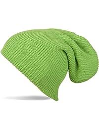 styleBREAKER Beanie Mütze Feinstrick, Slouch Strickmütze, doppelt gestrickt, warm und sehr weich, Unisex 04024004