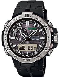 Casio PRW-6000-1ER - Reloj (Reloj de pulsera, Resina, Negro, Acero inoxidable, Resina, Negro, Mineral)