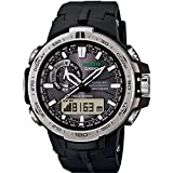 Casio Herren-Armbanduhr XL Pro Trek Analog - Digital Quarz Resin PRW-6000-1ER