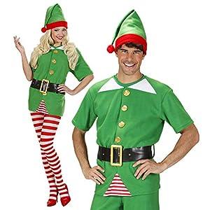 WIDMANN Desconocido El pequeño ayudante de vestuario Medio Elfo de Santa para el padre de disfraces de Navidad