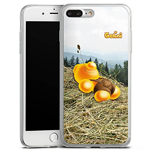 Apple iPhone 8 Slim Case Silikon Hülle Schutzhülle Gelini Gummibärchen Stroh Silikon Slim Case transparent