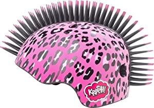 Krash Raskullz Westwood Kids Helmet 8+ Satefy Girls Pink Helmet