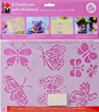 Marabu 027400006 - - Schablone selbstklebend Papillons A5