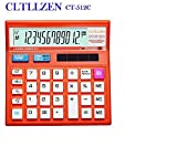 #4: Citllzen CT-512C Basic Calculator for personal or office use ORANGE