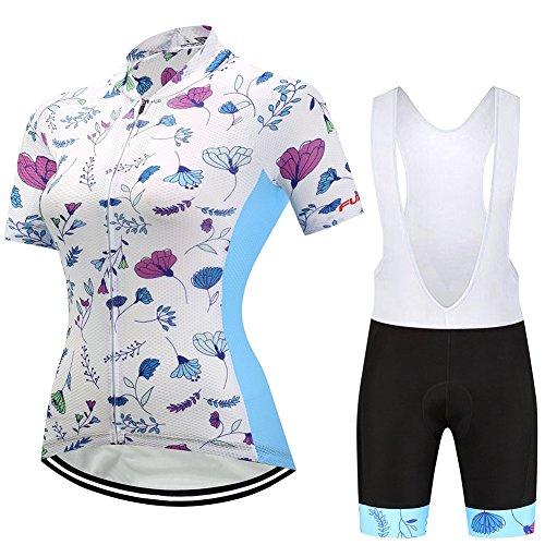 Actim Damen Kurzarm-Shorts Radtrikot - Feuchtigkeit Wicking, 003, M -