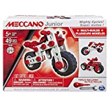 Meccano - 6026957 - Jeu de Construction - Super Motos Meccano Junior