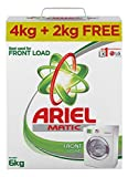 #5: Ariel Matic Front Load Detergent Washing Powder - 4 kg with Free Detergent Powder - 2 kg