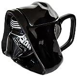 Joy Toy Star Wars - Taza de cerámica, diseño Kylo Ren 3D, con Tapa