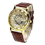 Best Golden Watches - Arric Analogue Golden Round Dial Men's Watch- W-4 Review