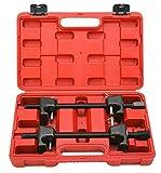 FreeTec Compressore Molla Elicoidale 2 Pezzi Per Puntelli Ammortizzatore MacPherson Kit