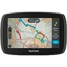 """TomTom START 40 Fijo 4.3"""" Pantalla táctil 216g Gris navegador - Navegador GPS (Interno, Toda Europa, 10,9 cm (4.3""""), 480 x 272 Pixeles, 16:9, Flash)"""