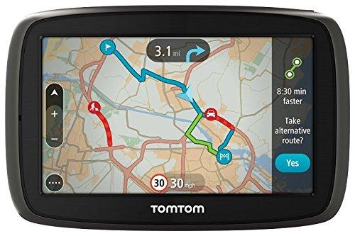 TomTom Start 40 Europa 23 GPS, Schermo 4,3'', Aggiornamento Mappe a Vita Incluso, IQ Routes [Italia]