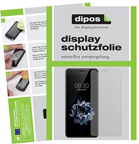 dipos I 2X Schutzfolie matt passend für TP-Link Neffos N1 Folie Bildschirmschutzfolie