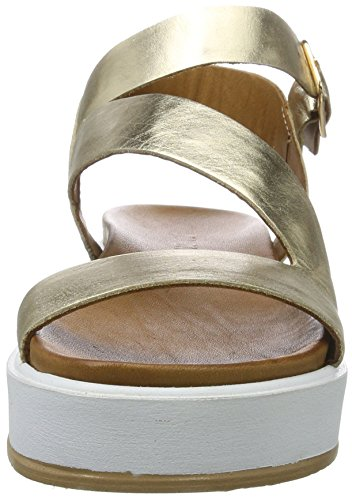 Inuovo Damen 7320 Plateausandalen Gold (Gold)