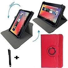 Onda V9193G Air Z3735–Teclado alemán Tablet Funda con función atril–9.7pulgadas teclado rojo rojo