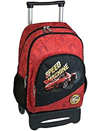 mochila escolar doble carro HOT WHEELS by DIS2