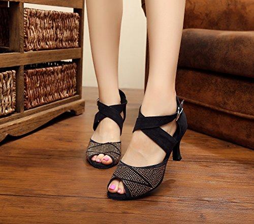 Sapatos Senhoras Minitoo Sapatos Minitoo Senhoras Minitoo Senhoras Pretos Dançando Dançando Pretos qwzCHII4x