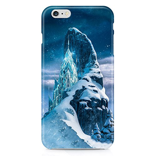 Frozen Ice Castle Hard Plastic Snap Case Cover For Iphone 6 Custodia