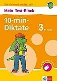 Klett Mein Test-Block: 10-min-Diktate: Deutsch in der Grundschule 3. Klasse (Die kleinen Lerndrachen)