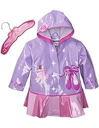 Kidorable Kids Ballerina Hooded Raincoat