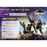 Game FORTNITE CHILDREN'S BIRTHDAY PARTY INVITES INVITATIONS X 10 PACK