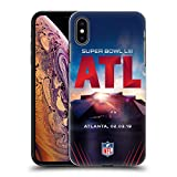 Officiel NFL Stade De Mercedes-Benz Atlanta 2019 Super Bowl LIII Étui Coque...