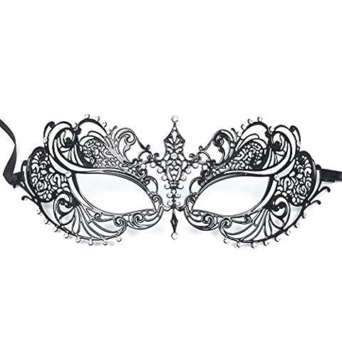 Bal Costumé Décorations - WINOMO Femmes Masque Mascarade Du Métal pour
