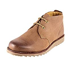 Urban Country Mens Tan Leather Boots (UCFWMC4082) - 9 UK