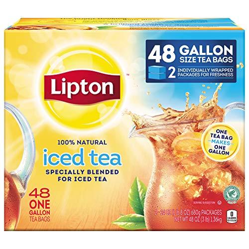 Lipton Iced Tea Brew Gallon Size Tea Bags - 48ct