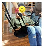 Patient Lift Transfer Sling Stair Slide Board Chair Bed Car Bathroom Wheelchair
