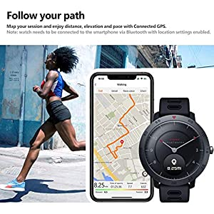 Bettying Sport Smart Watch Fitnessuhr mit Herzfrequenz-Blutdruckmessgerät Sportarmband für Zeblaze HYBRID