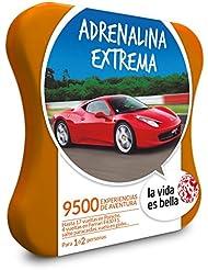 LA VIDA ES BELLA - Caja Regalo - ADRENALINA EXTREMA - 9500 experiencias de aventura