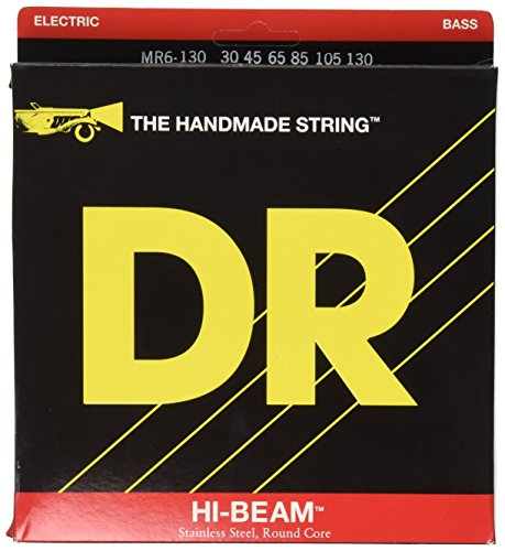dr-mr6-30-130-hi-beam-tite-fit-stainless-steel-medium-6-string