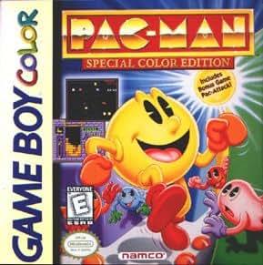 Pac-Man : Special Color Edition (Bonus : Pac-Attack inclus) - Pacman Game Boy Color