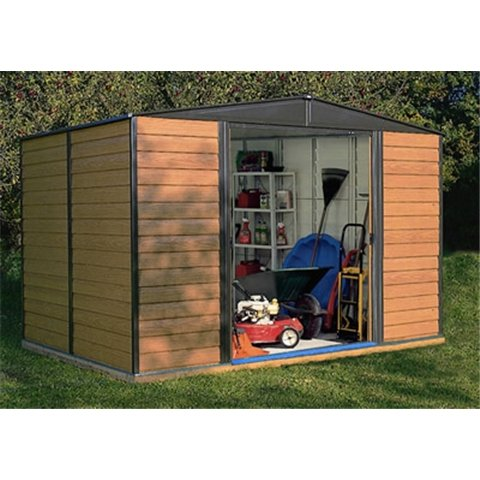 10FT x 6FT WOODVALE METAL SHED (3.13m x 1.81m) Test