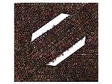5 m Wolltresse Einfaßband für Jacken braun Melange Boucle 35 mm