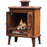 Go Garden Wakehurst Premium Rust Finish Fireplace
