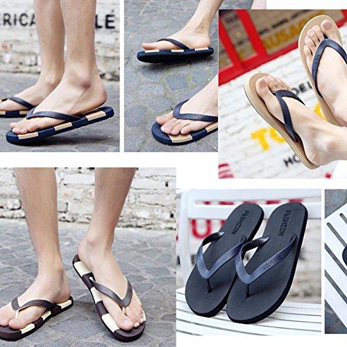Été Cool Femmes Hawaiian Beach Sandals Flip Flops noir 4