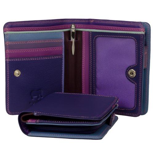 mywalit Medium portafoglio pelle 11 cm Multicolore (sweet violet)