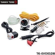 Tansky–turbo Boost manuale controller Dual Stage laptop kit & 52MM Boost gauge mbc-r-evo tk-evo01db