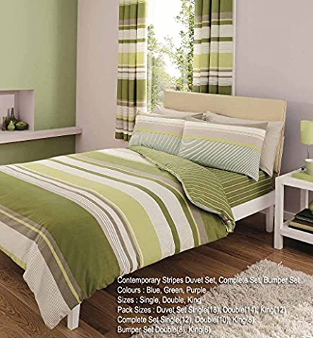 Duvet Cover Set Super king Size Bed With Pillowcases Quilt Bedding Set Reversible Poly Cotton , Contemporary Print