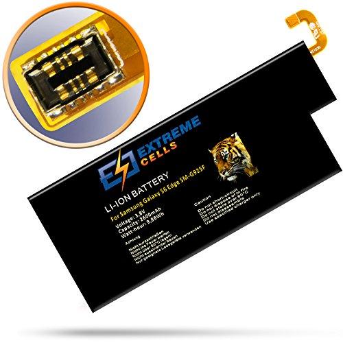 Extremecells Akku für Samsung Galaxy S6 Edge SM-G925F Ersatzakku Batterie