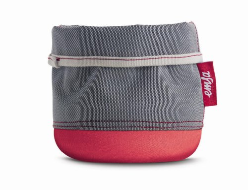 Emsa 512748 Softbag Cache-Pot/Porte-Ustensiles ou Corbeille 15 cm Rouge