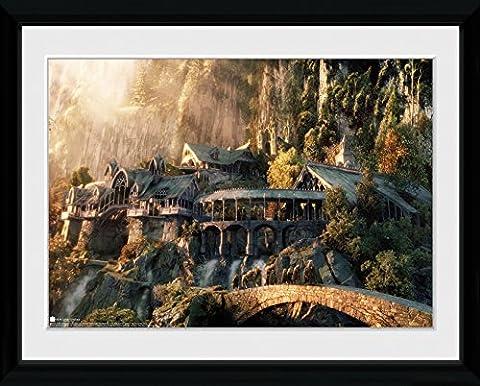 GB Eye LTD, Le Seigneur des anneaux, Fellowship Of The Ring, Photographie encadrée 30 x 40 cm