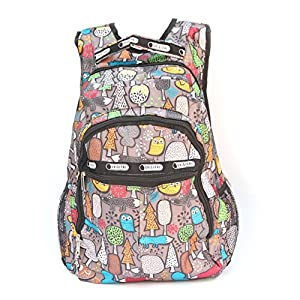 BRANDX (US Best Seller) Imported Water Proof Nylon Material Cute Travel School College Shoulder Bag/Bookbags for Teenage Girls/Students/Women/ Girls with Soft and Padded Adjustable Shoulder Straps