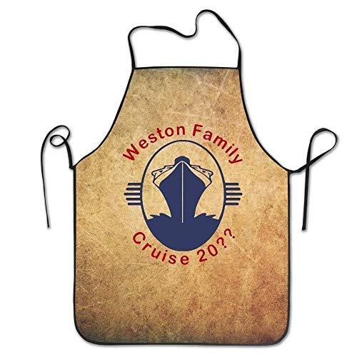 Laohujia New Weston Family Cruise 20 Symbol Bib Chefs Aprons Adjustable  Women Personalised Custom Funny Unisex 904ec045bdd3